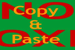 NOcopyPaste